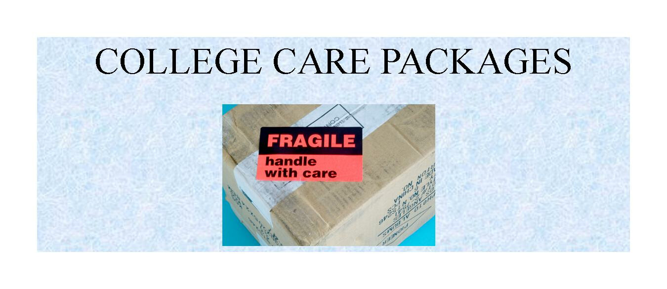 Care Packages for College Students