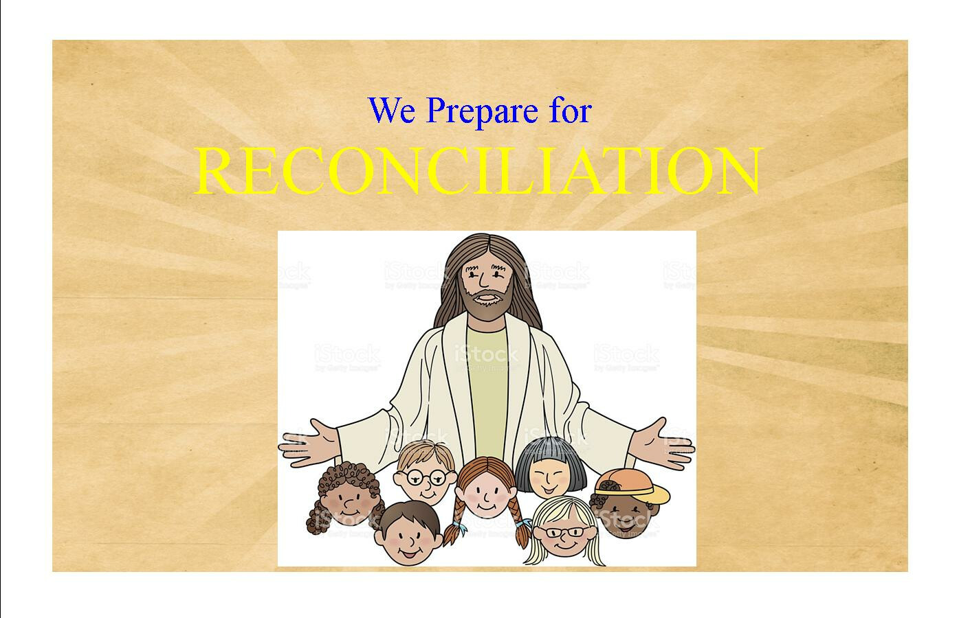 First Reconciliation Family Preparation Night
